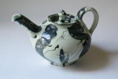 Thrown-Teapot