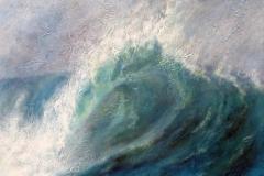 rutter paint breaking wave