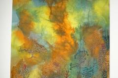 Maddy Wright 'Blaze' Mixed Media